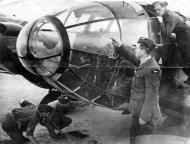 Asisbiz Heinkel He 111P 4.KG55 shot down by Spitfire Sgt Wall 602Sqn Bracklesham Bay 01