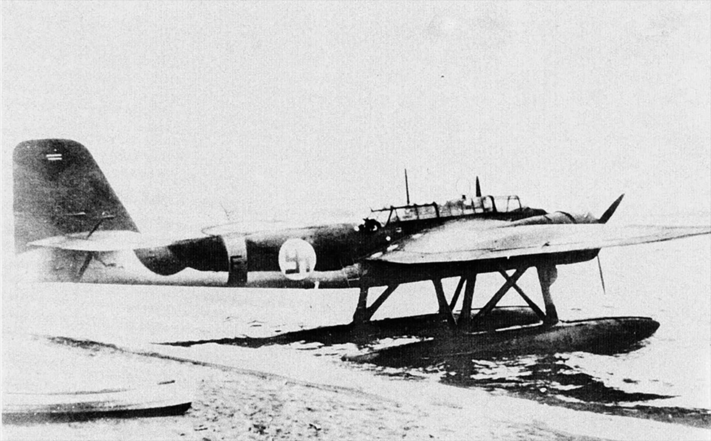 Heinkel He 115A0 Norwegian AF F50 defected to Finland and later flew under FAF 1941 01