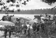 Asisbiz Junkers K 43fa FAF JU127 and JU128 foreground at Tiiksjarvi 6th Sep 1941 01