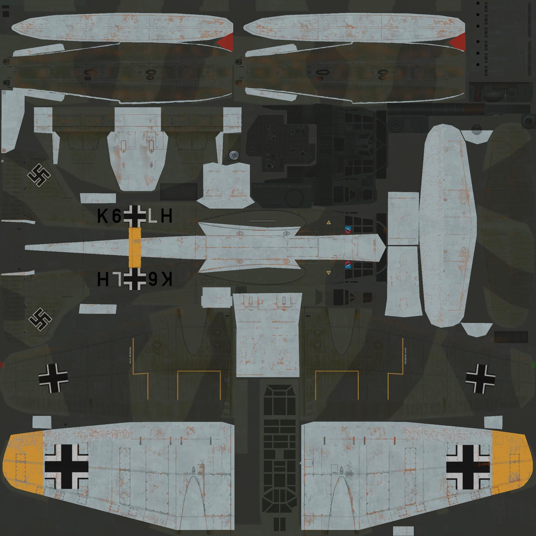 COD C6 He 115C1 1.KuFlGr406 (K6+LH) Norway 1944