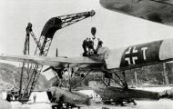 Asisbiz Heinkel He 115B1 1.KuFlGr406 (K6+TH) undergoing repairs Trondheim Norway 1942