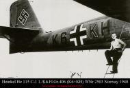 Asisbiz Heinkel He 115C1 1.KuFlGr406 (K6+KH) WNr 2503 Norway 1940 01