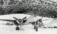 Heinkel He 219A 1.NJG1 with FuG 220d radar Munster Handorf 1944 45 01