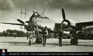 Heinkel He 219A0 1.NJG1 Kommandeur Paul Foster Venlo Holland summer 1944 01