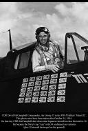Asisbiz Aircrew USN CDR David McCampbell Commander Air Group 15 in his F6F 5 Hellcat Minsi III 02
