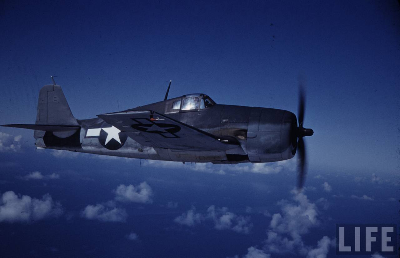 Grumman F6F 3 Hellcat USA colored photo by Time Life 03