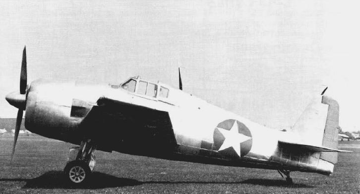 Grumman XF6F 1 Hellcat prototype state side 1942