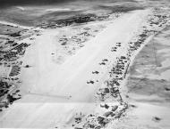 Asisbiz Aerial view of Hawkins Field Betio Island Tarawa Atoll in 1944 01