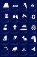 Asisbiz Art Carrier air group geometric identification symbols or G symbols introduced Jan 1945 0A