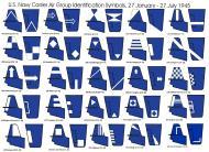 Asisbiz Art Carrier air group geometric identification symbols or G symbols introduced Jan 1945 0B