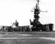 Asisbiz Grumman F6F 5 Hellcat VF 42 Black 12 aboard CVL 30 USS San Jacinto 01