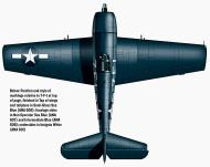 Asisbiz Grumman F6F 5 Hellcat VF 7 White 7F1 aboard CV19 USS Hancock 1944 0B