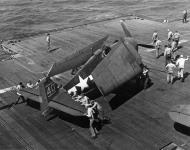 Asisbiz Grumman F6F 5 Hellcat VF 8 White 40 aboard CV 17 USS Bunker Hill 01