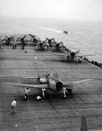 Asisbiz Grumman F6F 5 Hellcat VF 8 White 8F14 aboard CV 11 USS Intrepid 01