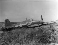 Asisbiz Grumman F6F 5 Hellcat VF 88 Yellow C61 at NAB Marpi Saipan 1945 01