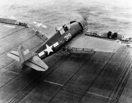 Asisbiz Grumman F6F 5N Hellcat AIR LANT White 319 CVE 67 USS Solomons 01