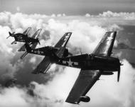 Asisbiz Grumman F6F 5N Hellcat VFN 107 White 76 from NAS Quonset Point RI 01