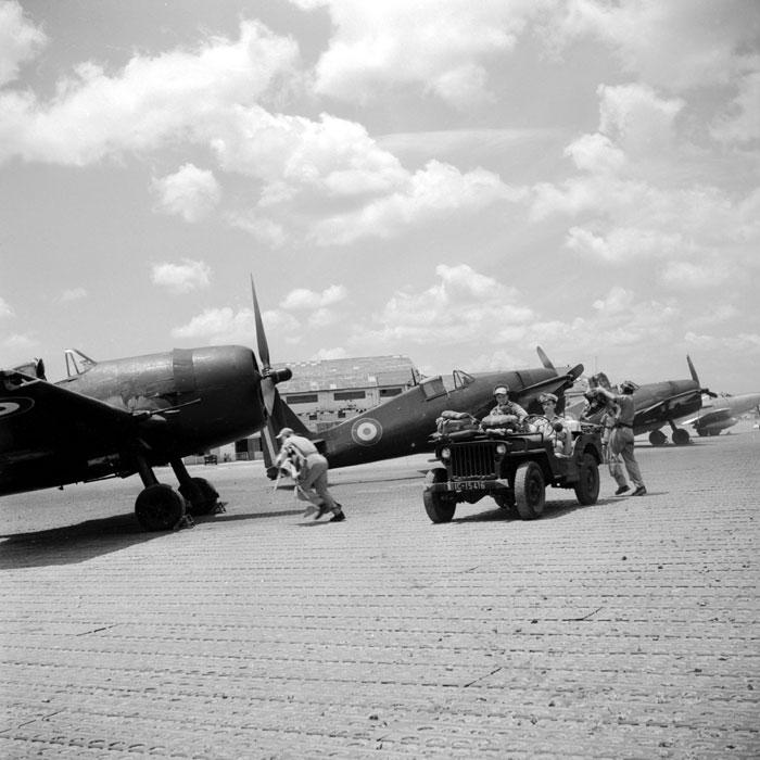 French Navy Grumman F6F 5 Hellcats Groupe de Chasse II.6 Normandie Niemen 02