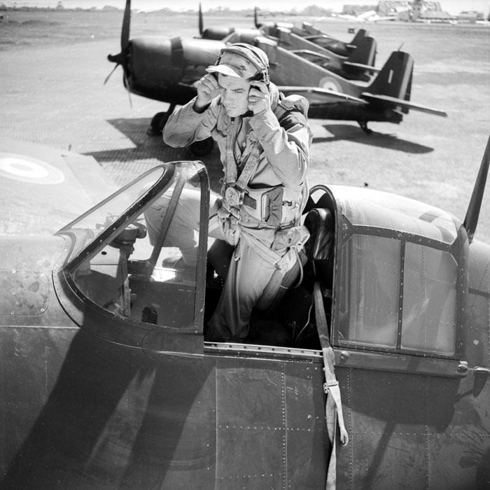 French Navy Grumman F6F 5 Hellcats Groupe de Chasse II.6 Normandie Niemen 03