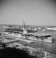 Asisbiz CVE 86 USS Sitkoh Bay recommissioned Jul 1950 assigned to the Military Sealift Service and used to supply France in Indochina 01