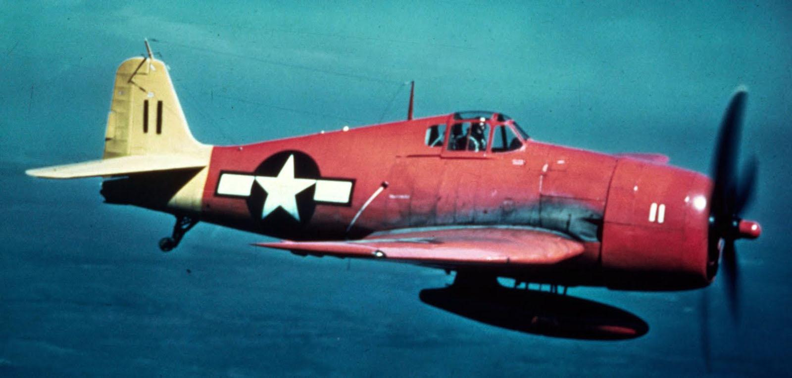 Grumman F6F 5K Hellcat No 11 drone and target aircraft post war 01