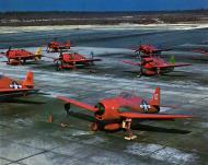 Asisbiz Grumman F6F 5K Hellcat brightly colored drone and target aircraft post war 01