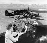 Asisbiz Grumman F6F 5P Hellcat NAF White 980 BuNo 78980 Armitage Field China Lake 26th Jan 1948 01
