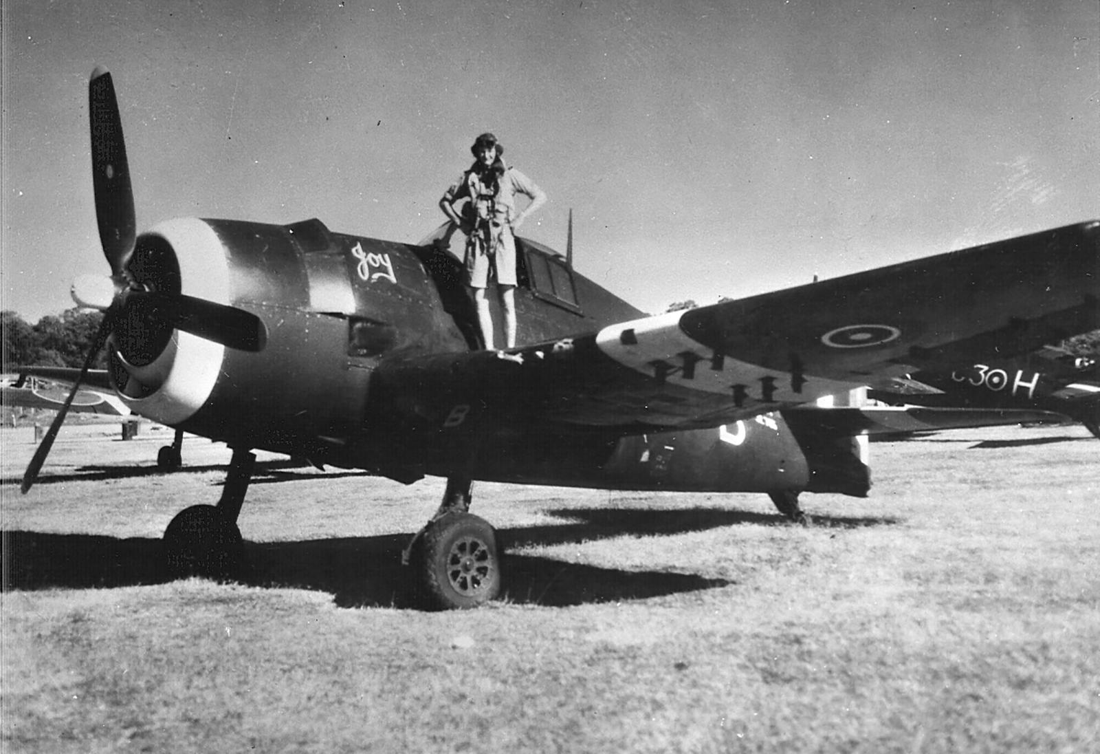 Grumman Hellcat MkII RN FAA 800NAS C3B named Joy and C3H SEAC 1945 01