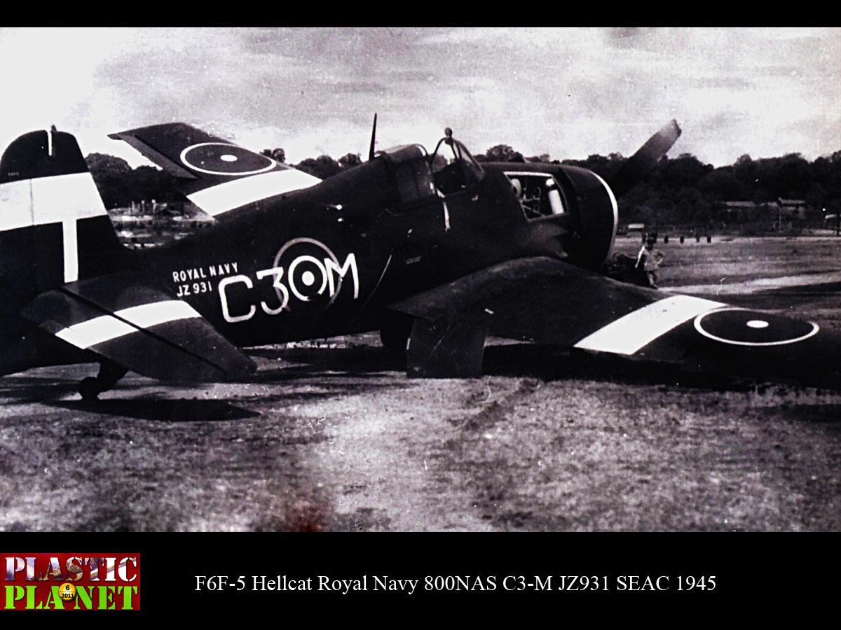Grumman Hellcat MkII RN FAA 800NAS C3M JZ931 SEAC 1945 02