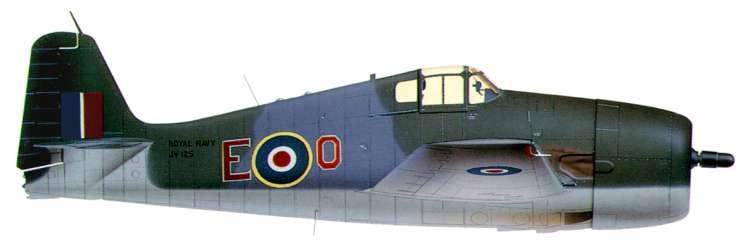 Grumman F6F 3 Hellcat RN 804NAS E O JV125 Orr Emperor 1944 0A