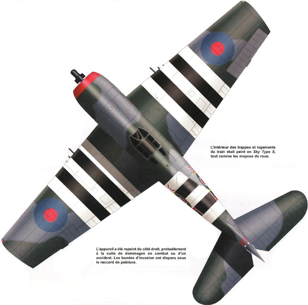 Grumman F6F 3 Hellcat RN 804NAS E W JV105 DD Emperor 1944 0A