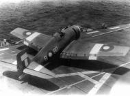 Asisbiz Grumman Hellcat MkII RN FAA 896NAS B8D JX725 preparing for launch SEAC 1945 01