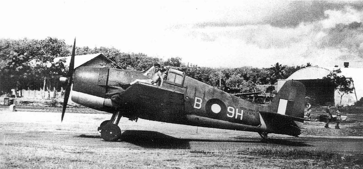 Grumman Hellcat MkII RN FAA 898NAS B9H JX675 SEAC 1945 01