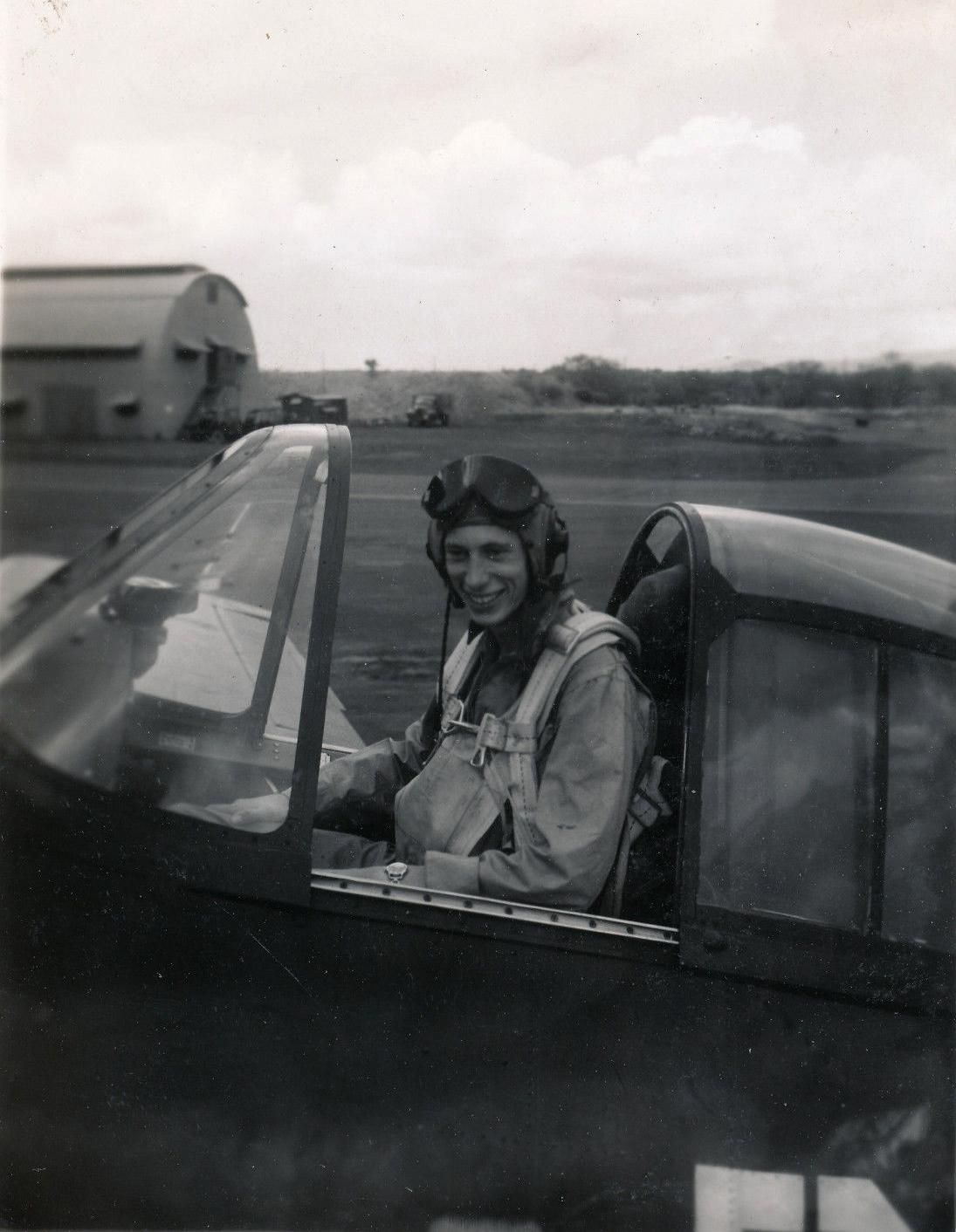 Aircrew USN VBF 8 Ens Austerman NAS Puunene 1945 01