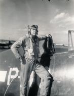 Asisbiz Aircrew USN VBF 8 Ens Gordon Gordo Woolley NAS Puunene 1945 01