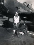 Asisbiz Aircrew USN VBF 8 Ens Sarver NAS Puunene 1945 01