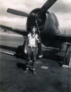 Asisbiz Aircrew USN VBF 8 Ens Strange NAS Puunene 1945 01