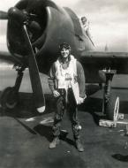 Asisbiz Aircrew USN VBF 8 Lt Tom Neely NAS Puunene 1945 01