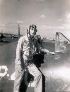 Asisbiz Aircrew USN VBF 8 LtJG Northrop NAS Puunene 1945 01