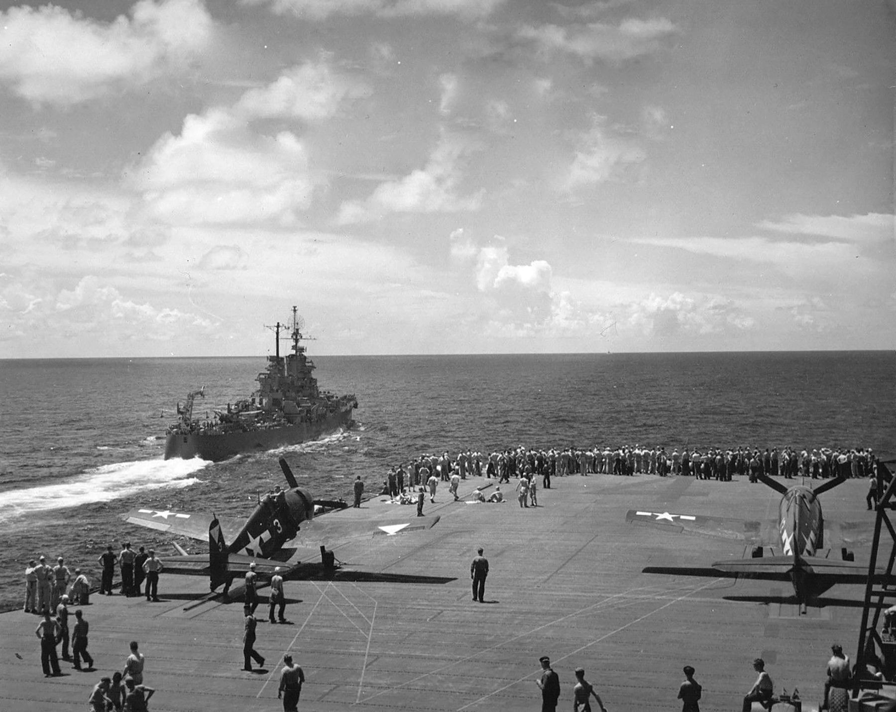 Grumman F6F 5 Hellcat VBF 87 White 3 aboard CV 14 USS Ticonderoga June 1945 ebay 01