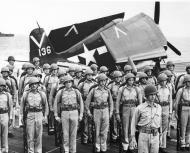 Asisbiz Grumman F6F 5 Hellcat VBF 87 White 136 aboard CV 14 USS Ticonderoga June 1945 01