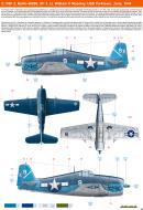 Asisbiz Grumman F6F 3 Hellcat VF 1 White K9 William Moseley BuNo 40090 CV 10 Yorktown II 1944 0A