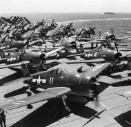 Asisbiz Grumman F6F 5 Hellcat VF 1 White K11 aboard CV 10 USS Yorktown II June 1944 01