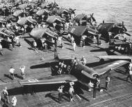 Asisbiz Grumman F6F 5 Hellcat VF 1 White K19 aboard CV 10 USS Yorktown II June 1944 01