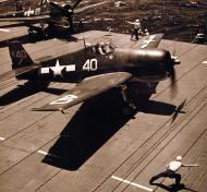 Asisbiz Grumman F6F 5 Hellcat VF 1 White K40 aboard CV 10 USS Yorktown II June 1944 01
