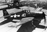 Asisbiz Grumman F6F 5 Hellcat VF 1 White K40 aboard CV 10 USS Yorktown II June 1944 02