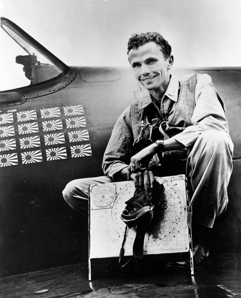 Aircrew USN VF 11 ace Charles R Stimpson scored 16 confirmed kills 02