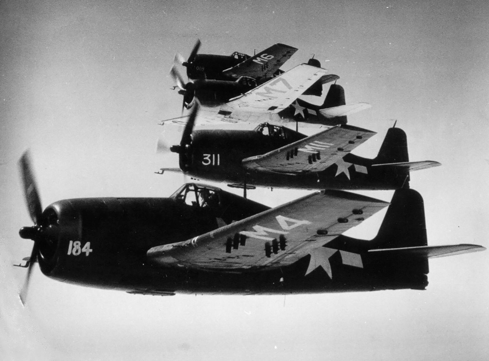 Grumman F6F 5 Hellcat VF 11 Sundowners over Santa Rosa 1945 01