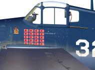 Asisbiz Art Grumman F6F 3 Hellcat VF 16 White 32 Alex Vraciu 0A