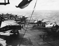 Asisbiz Grumman F6F 3 Hellcat VF 16 White 28 aboard CV 16 USS Lexington 1944 01